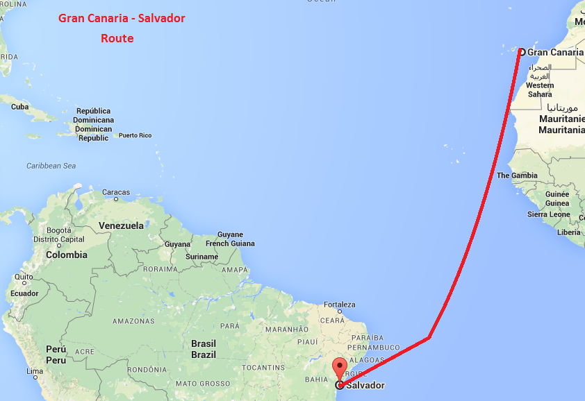 9 Day Cruise From Canary Islands To Brazil Only 154 Eur